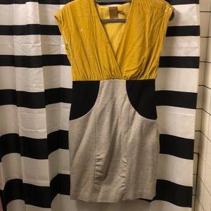 Ali Ro velvet and tweed dress. Size 4